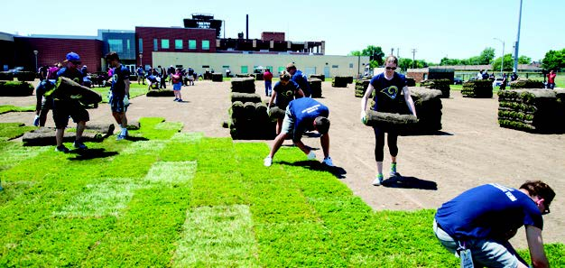 PHL, Inc & Rams Transform Field
